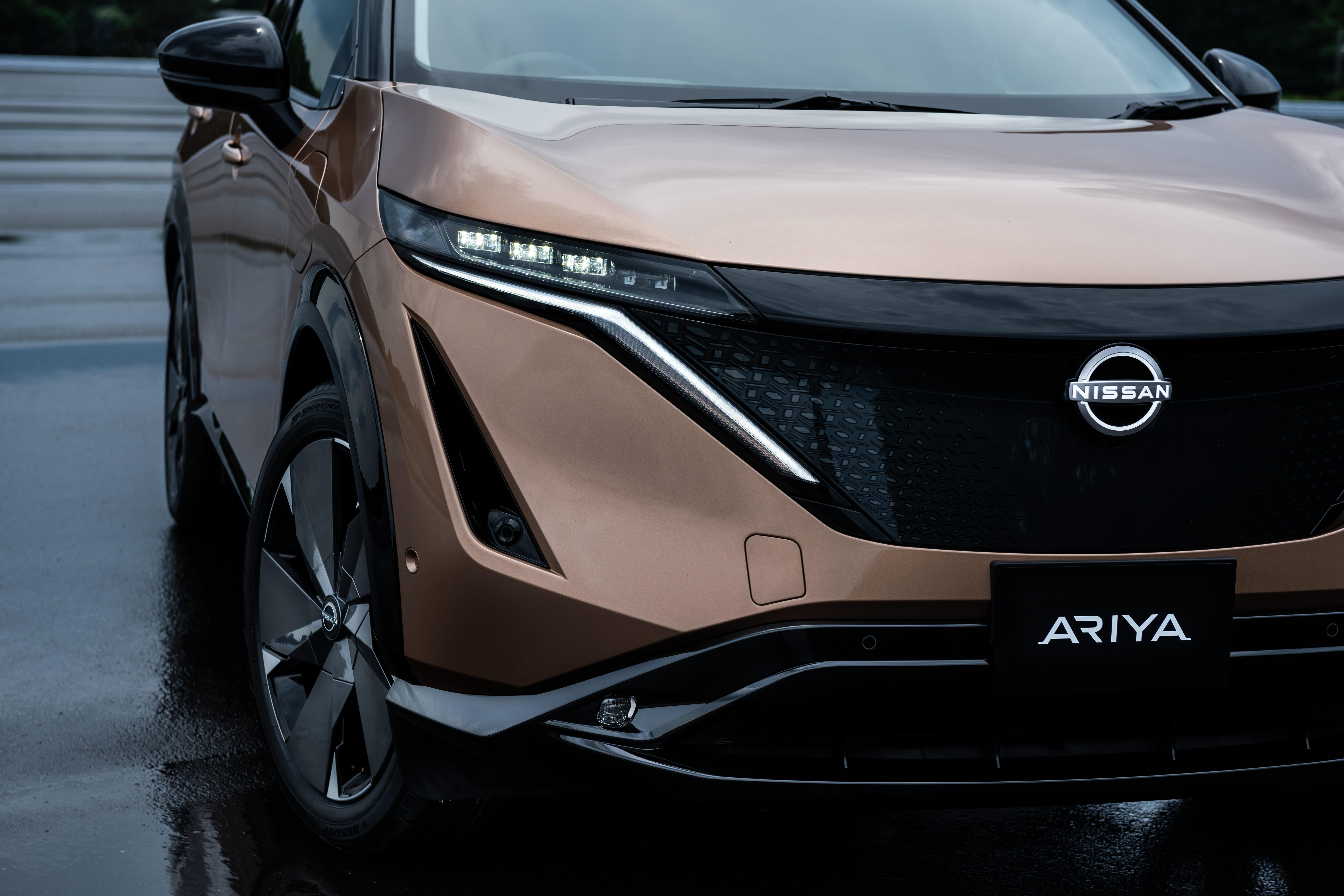 Nissan unveils all-electric Ariya crossover under turnaround plan