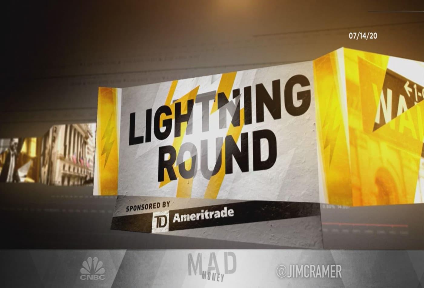 Cramer's lightning round: Buy more VMware