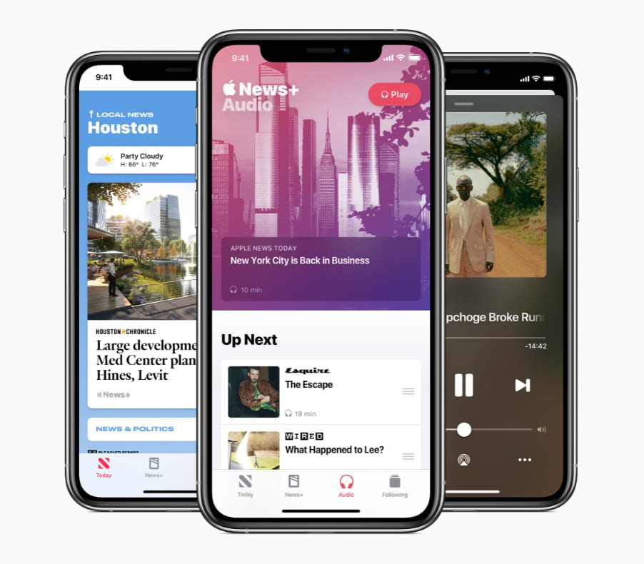 Apple News adds audio news stories, daily news podcast and local news