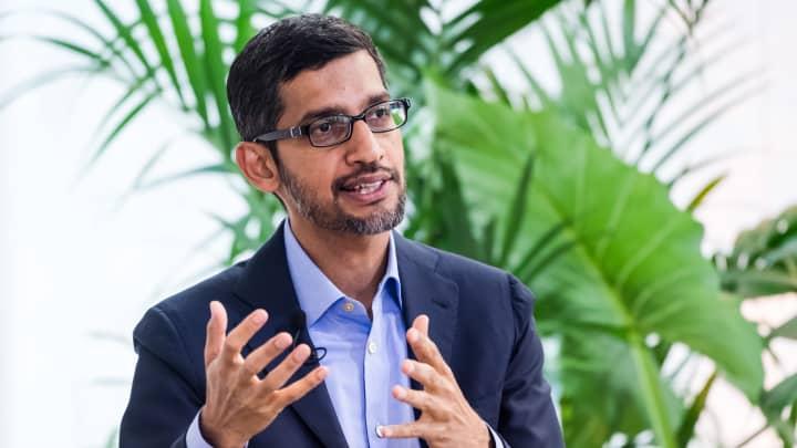 cnbc.com - Cat Clifford - Meeting Google's climate change goals 'stresses out' CEO Sundar Pichai
