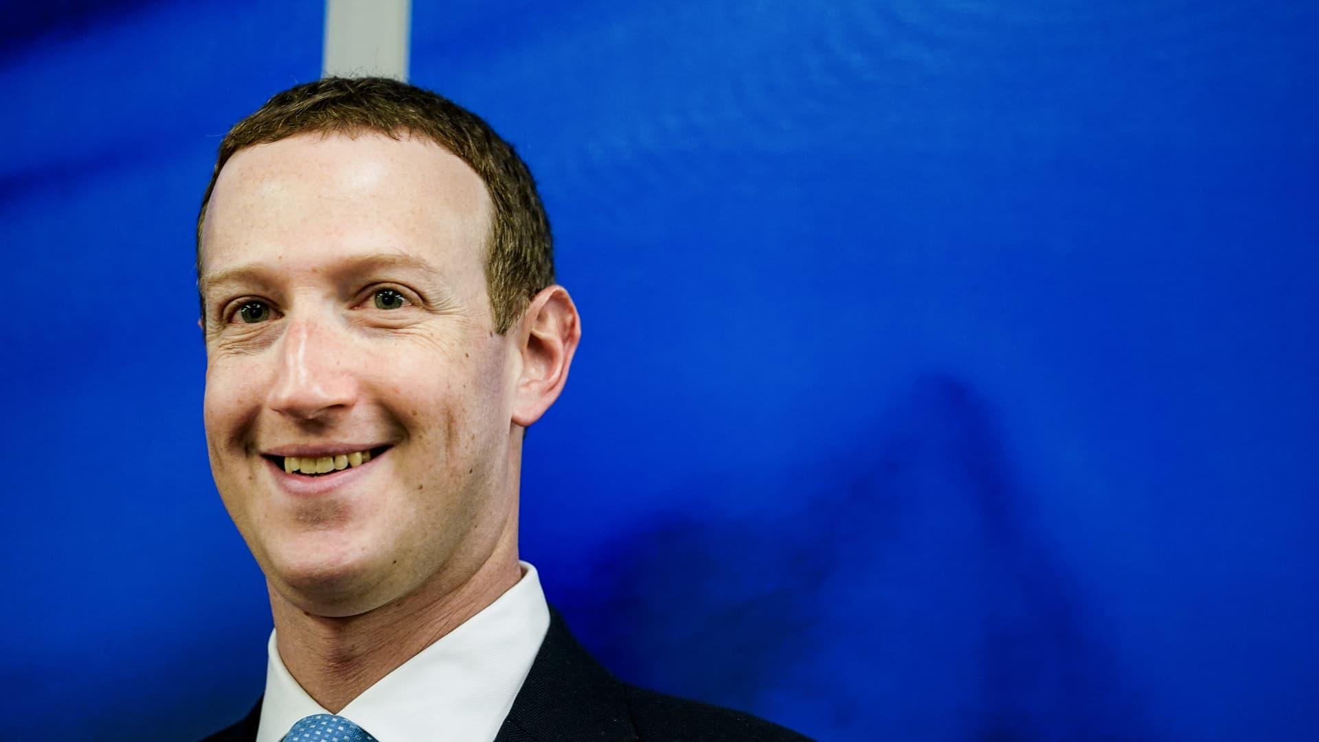 Facebook CEO Mark Zuckerberg in 2017.