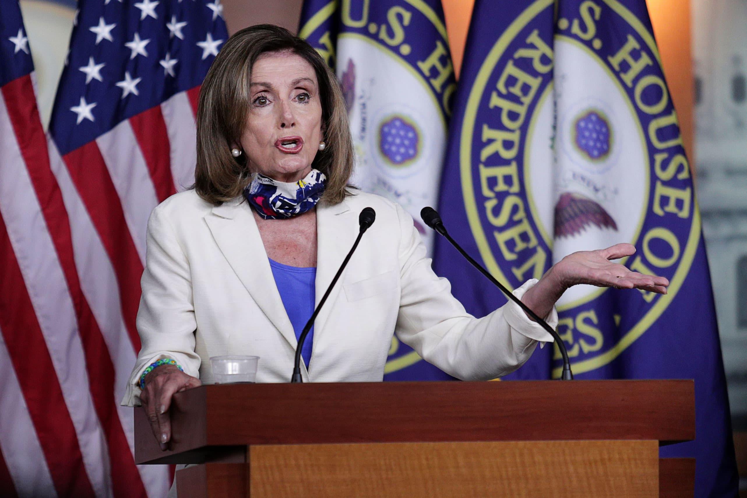 Pelosi blasts GOP 'skinny' offers, doubles down on demand gargantuan coronavirus stimulus bundle thumbnail