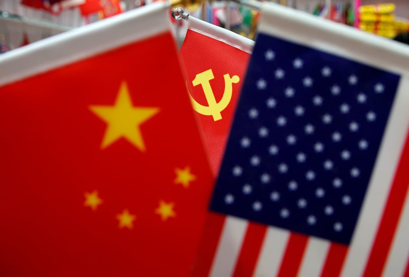 Chinese foreign minister takes firm tone, calls for 'non-interference' between China and the U.S.