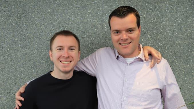 Những người sáng lập GitLab, Dmitriy Zaporozhets và Sid Sijbrandij