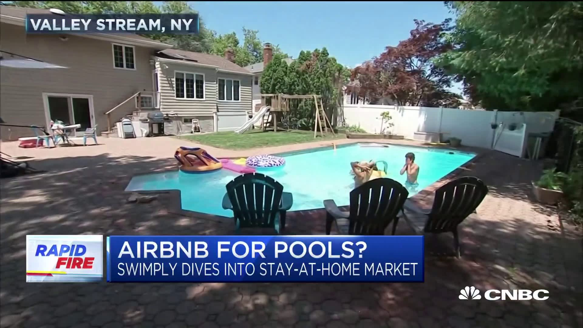 Desperate For A Pool You Can Now Rent A Private One By The Hour