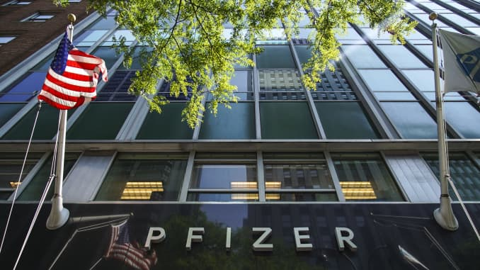 Pfizer Proposes Expansion Of Late Stage Coronavirus Vaccine Trial