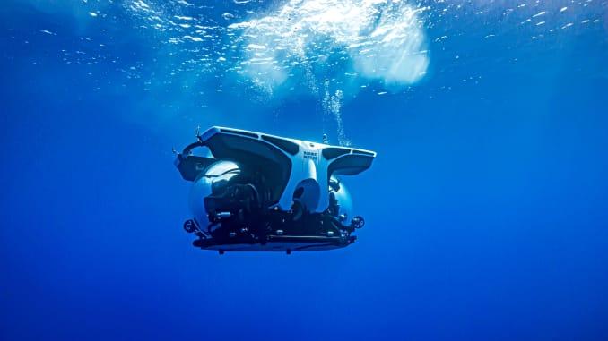 Scenic's six-passenger submarine.