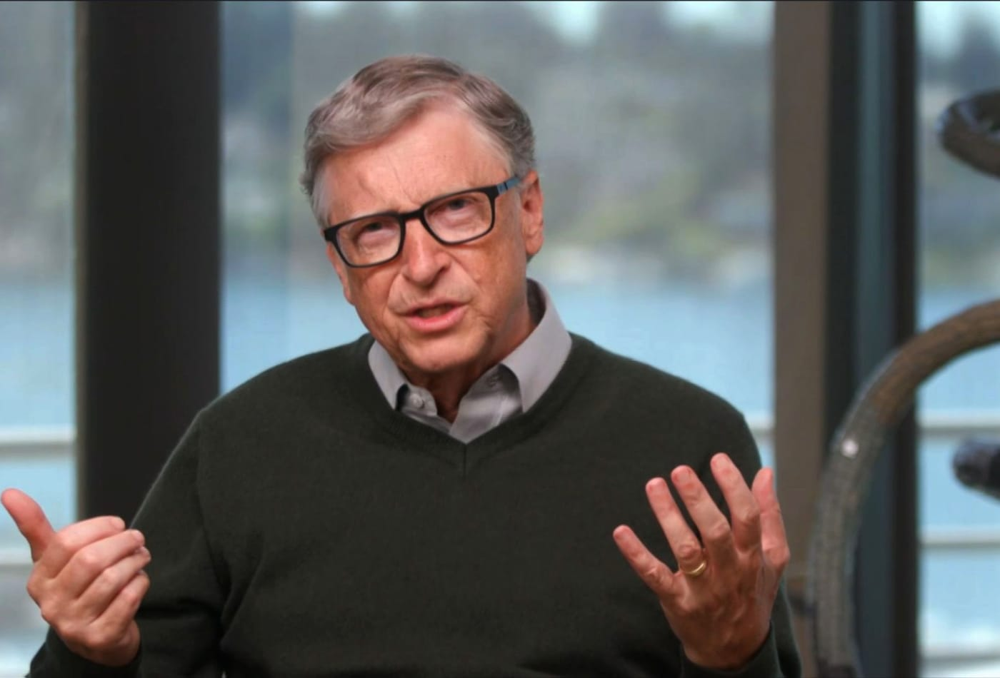 Bill Gates: 'Be open to ideas that seem wild' to fight climate change