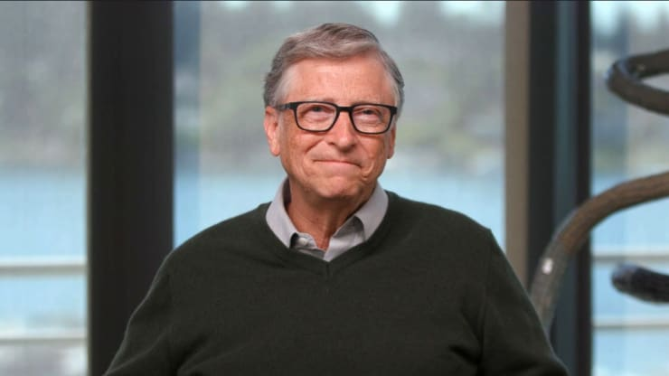 Bill Gates smiles as 50% of business travel disappears