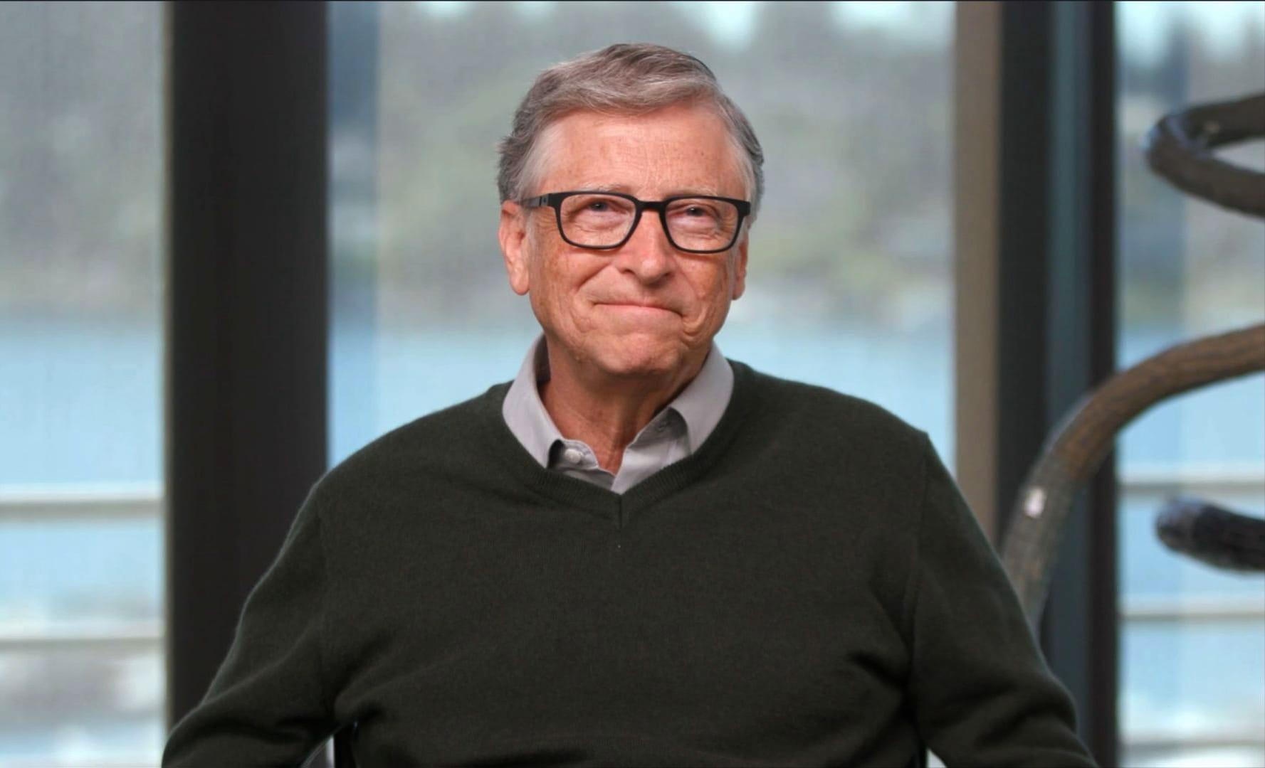 Bill Gates says social media platform Parler's content has some 'crazy stuff'