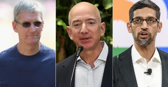 Lawmakers unveil major bipartisan antitrust reforms that could reshape Amazon, Apple, Facebook, Google