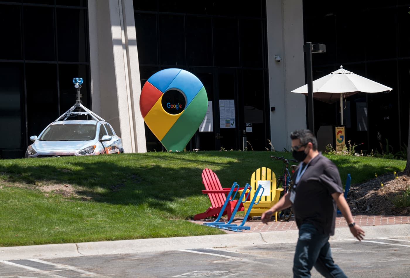 Suspicious package deemed safe at Google campus in Mountain View