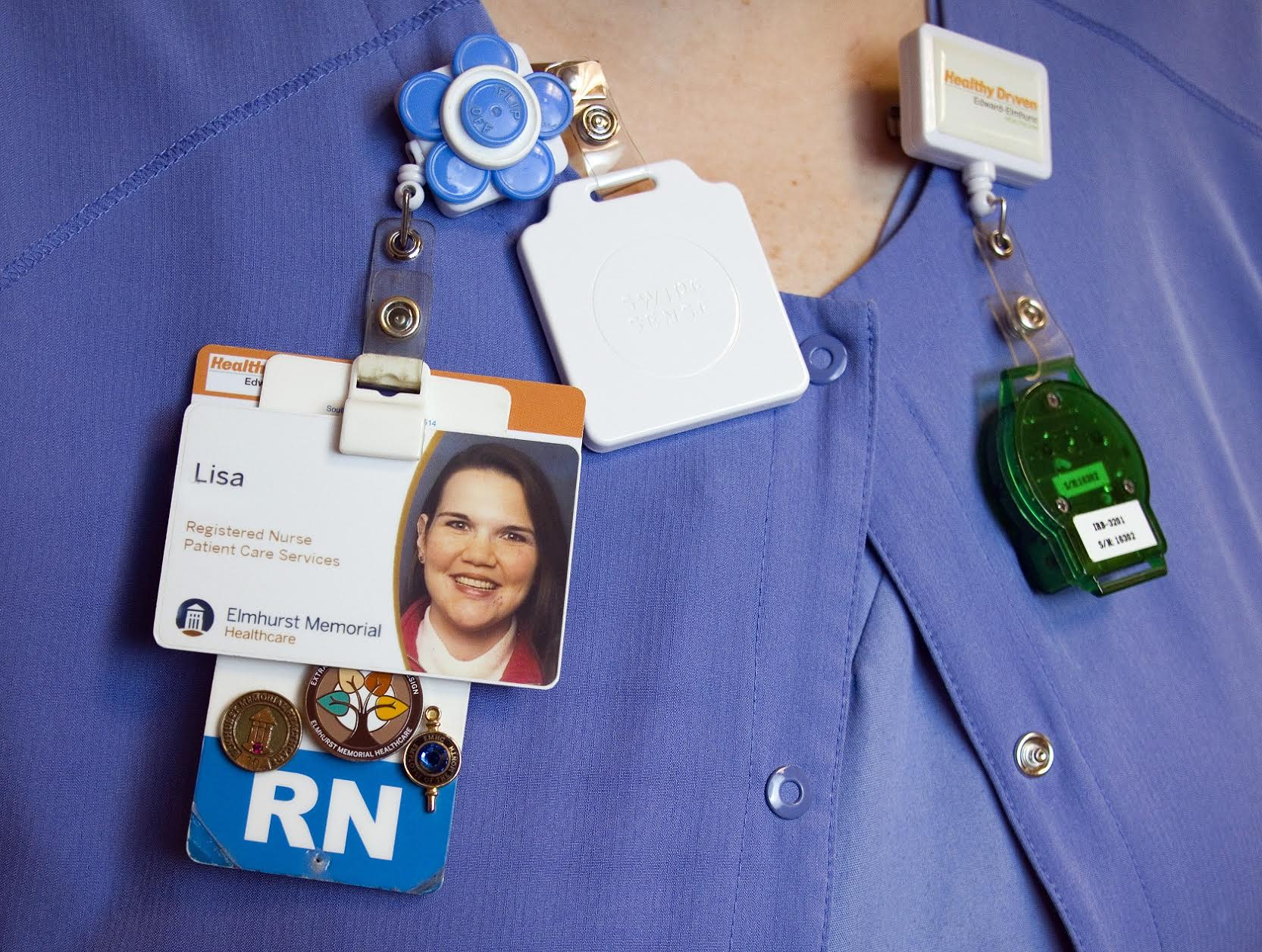 SwipeSense uses sensors in badges to track the coronavirus
