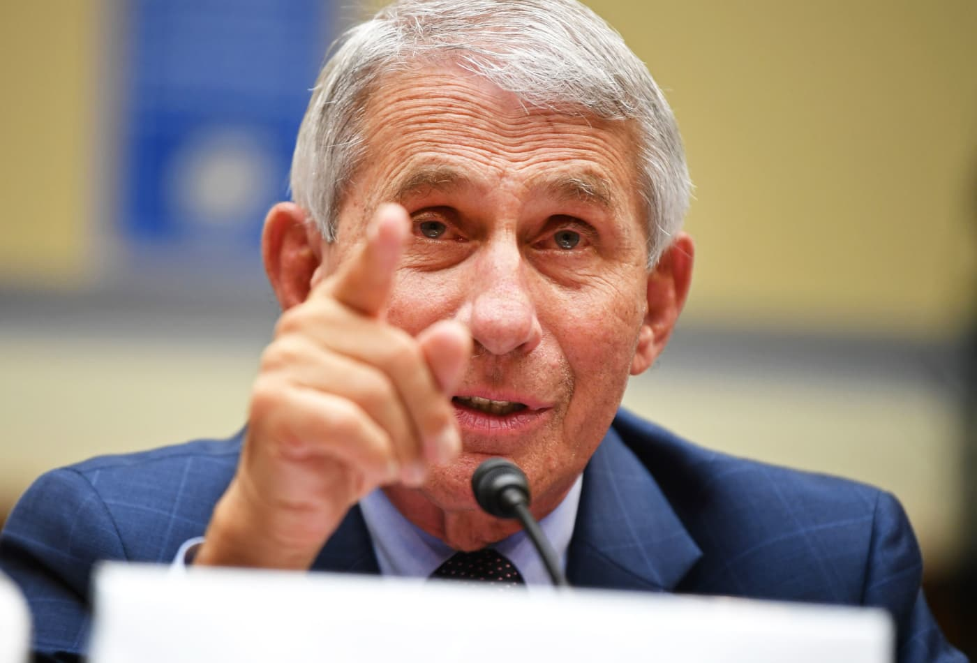 Dr. Fauci says coronavirus is so contagious, it won't likely ever disappear