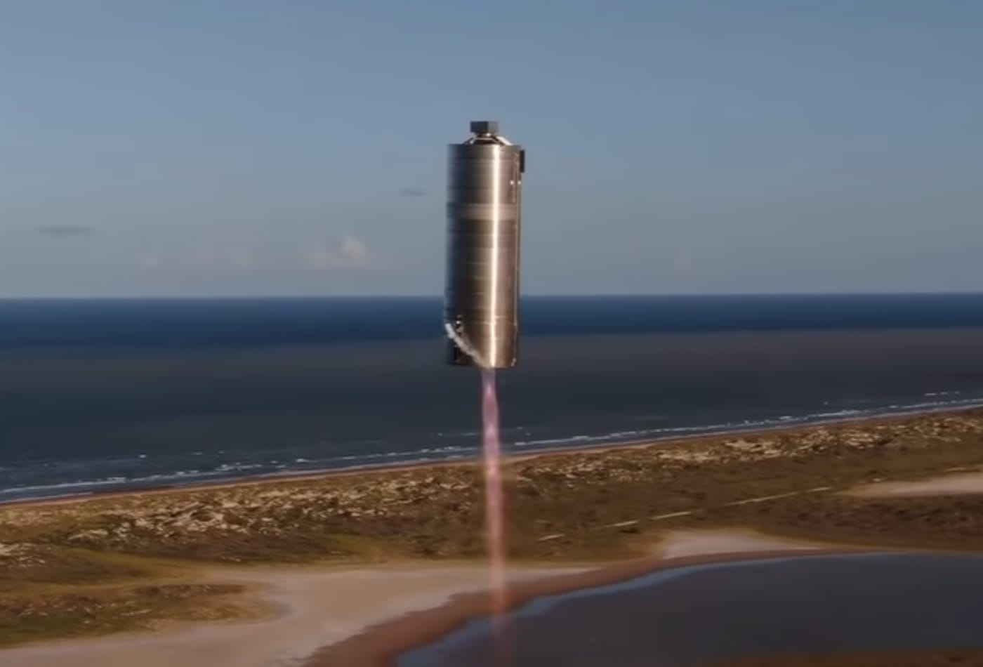 SpaceX launches and lands prototype of its Mars rocket Starship in key short flight test