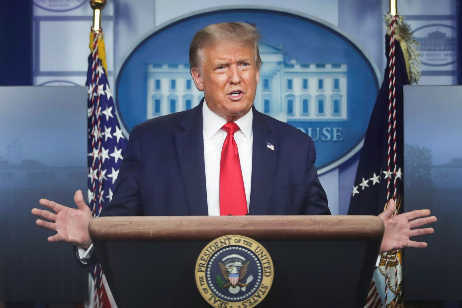 White House appears to make concessions on unemployment...