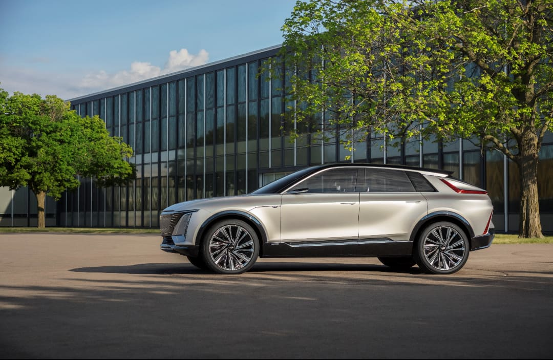 GM unveils all-electric Cadillac Lyriq as its new 'technology spearhead'