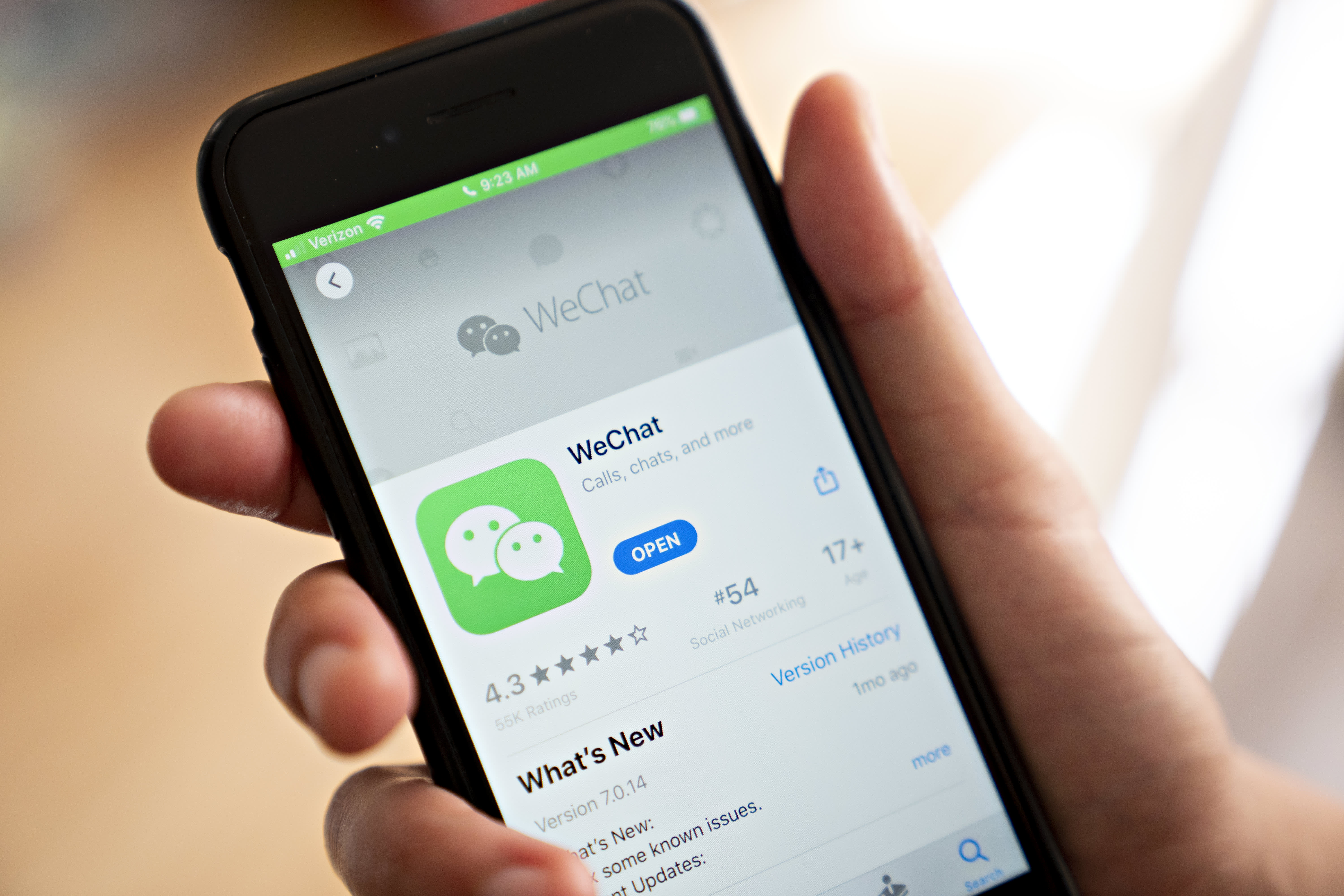 Judge halts Trump administration order banning WeChat from Apple and Google app stores