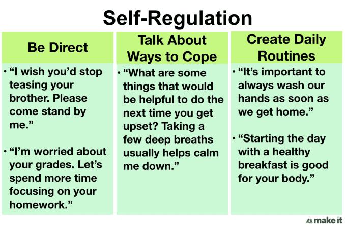 Emotional Intelligence: Teaching Self-Regulation