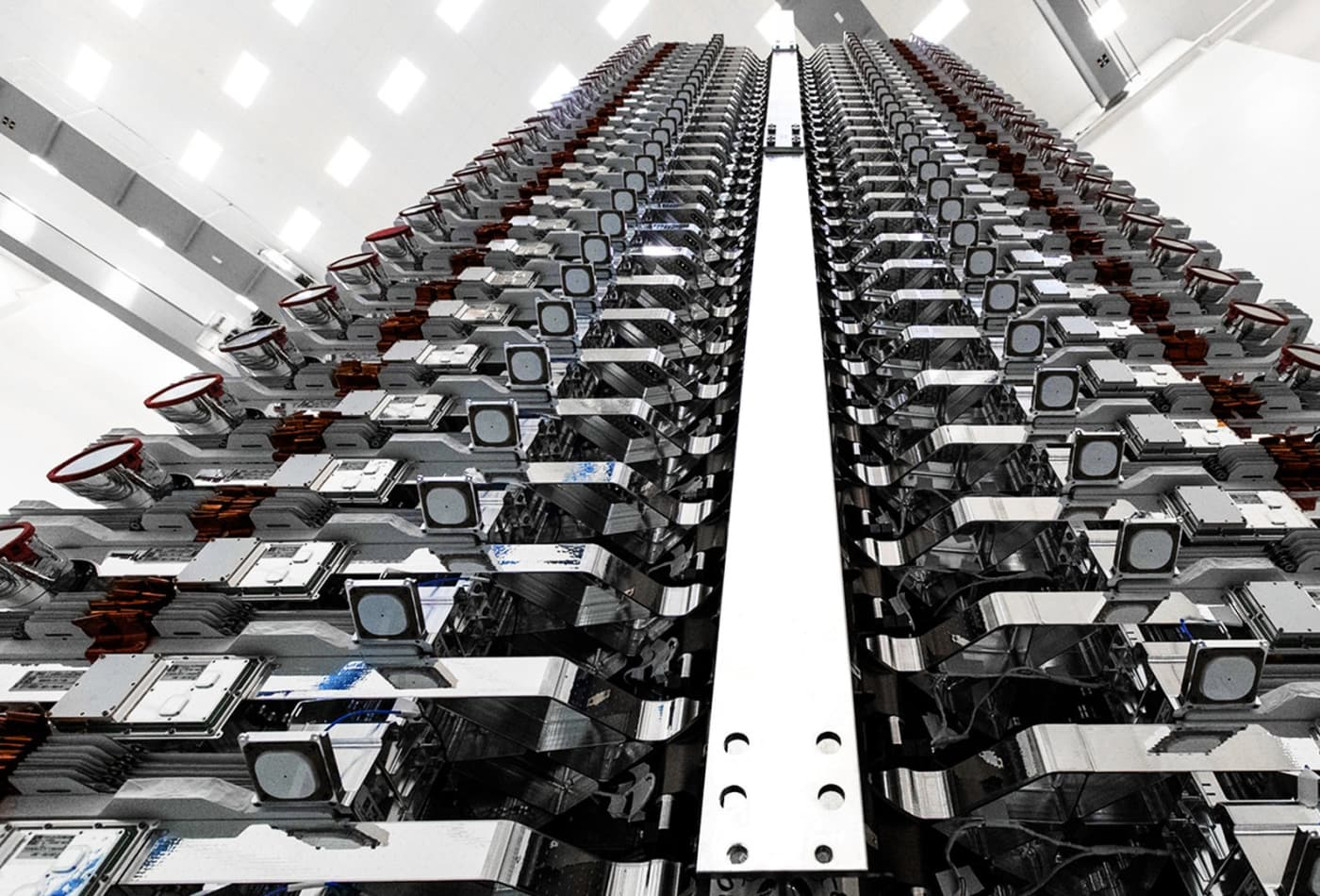 SpaceX is manufacturing 120 Starlink internet satellites per month