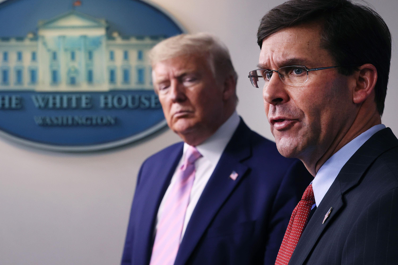 White House has talked to VA secretary about taking Pentagon job if Trump fires Esper thumbnail