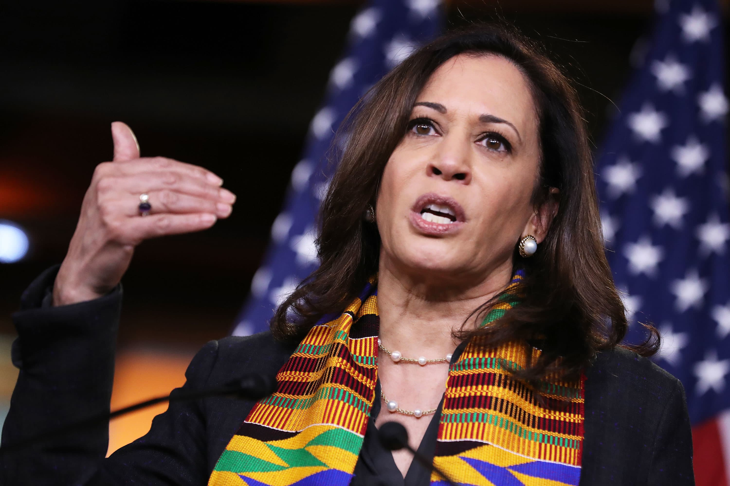 Kamala Harris Learned To Be A Problem Solver From Her Mom
