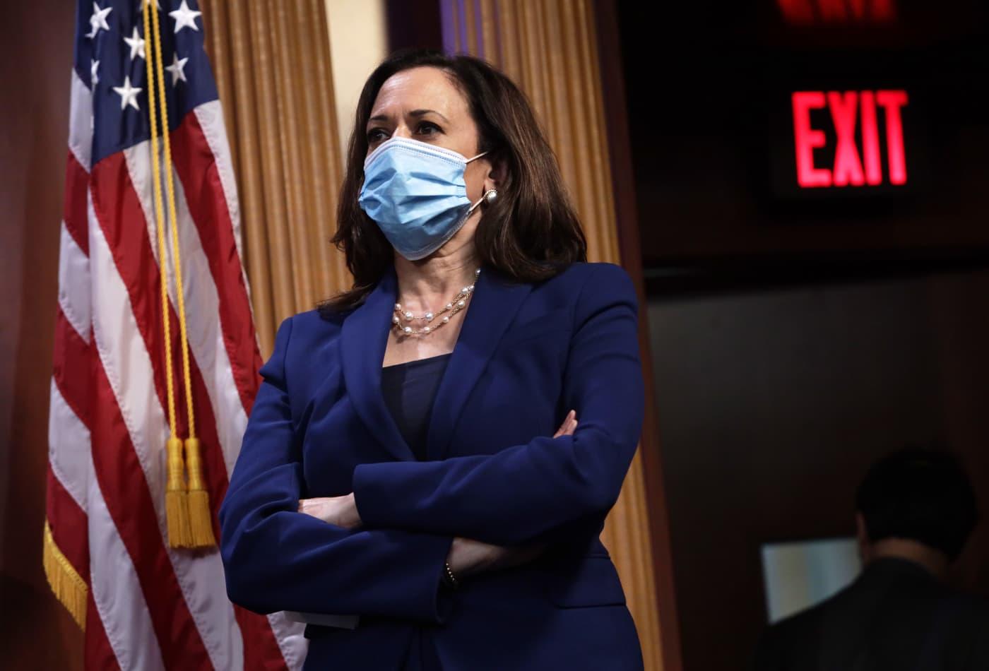 Where Kamala Harris stands on coronavirus masks, stimulus checks and other pandemic spending