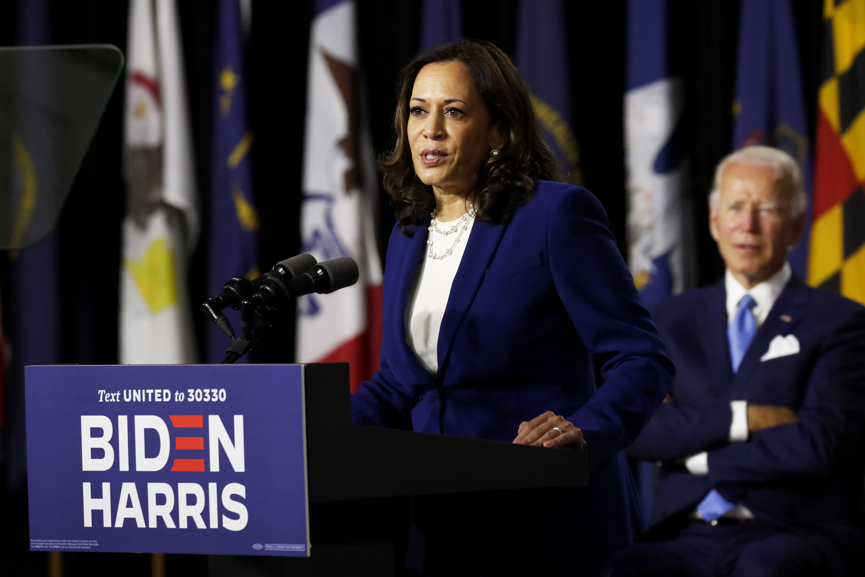 Kamala Harris blames Trump for severity of U.S. coronavirus outbreak: He failed to take it 'seriously from the start' – CNBC
