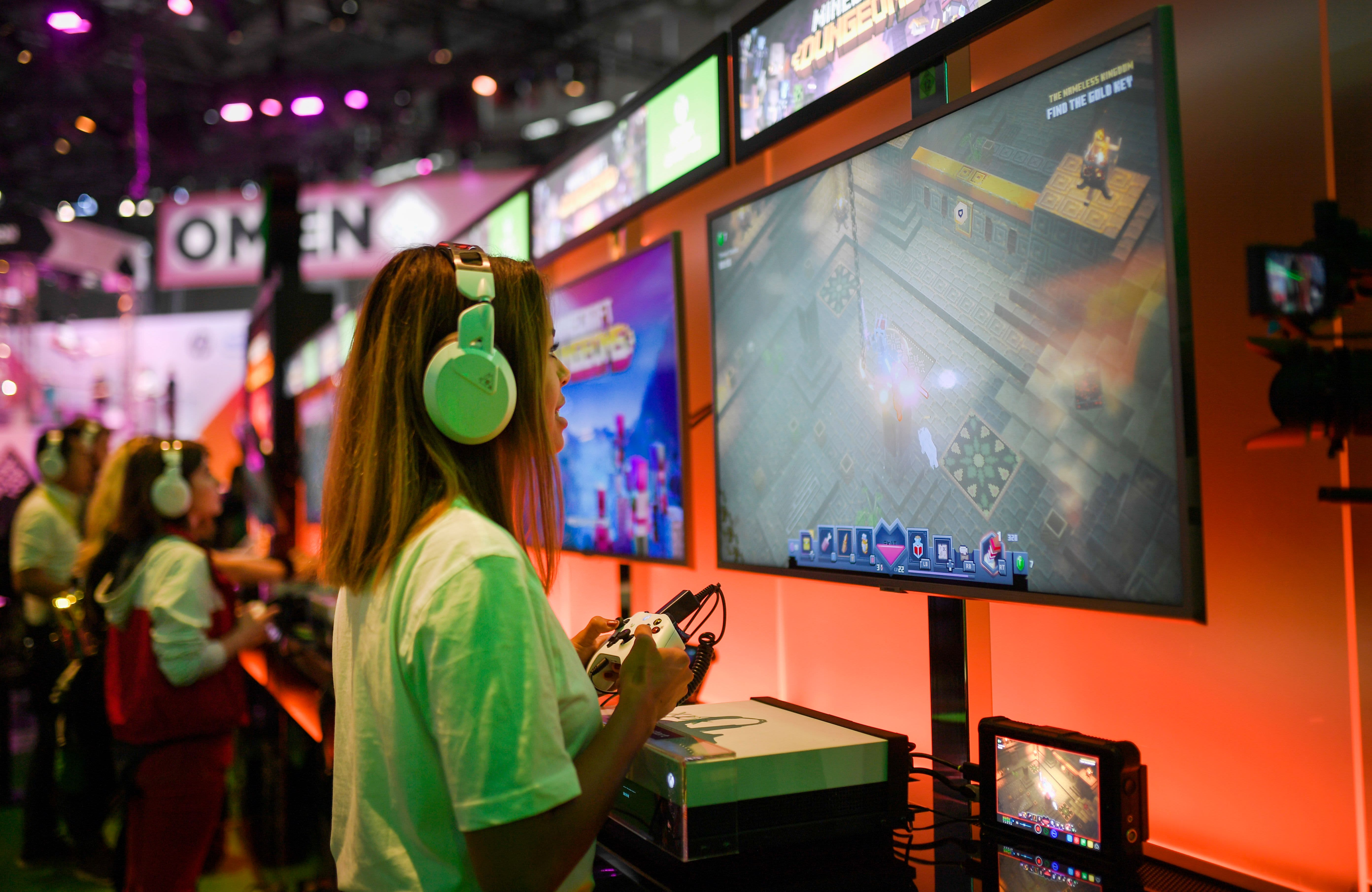 The $150 billion video game industry grapples with a murky track record on diversity - CNBC