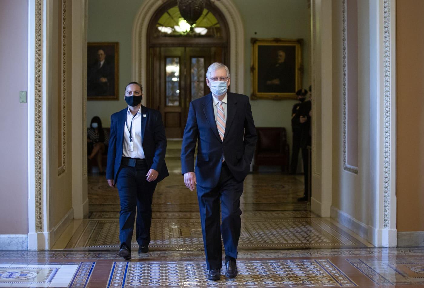 Senate adjourns until September with no coronavirus relief bill