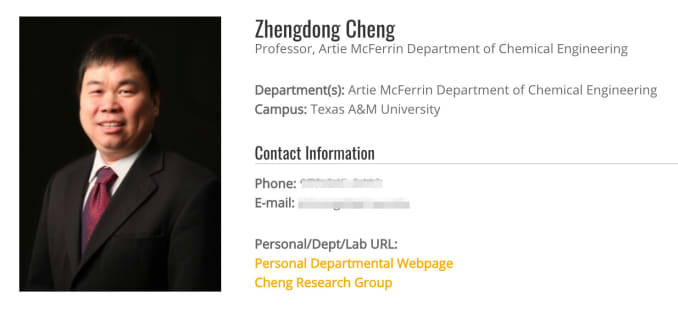 Texas A&M professor, NASA researcher accused of secretly collaborating with China