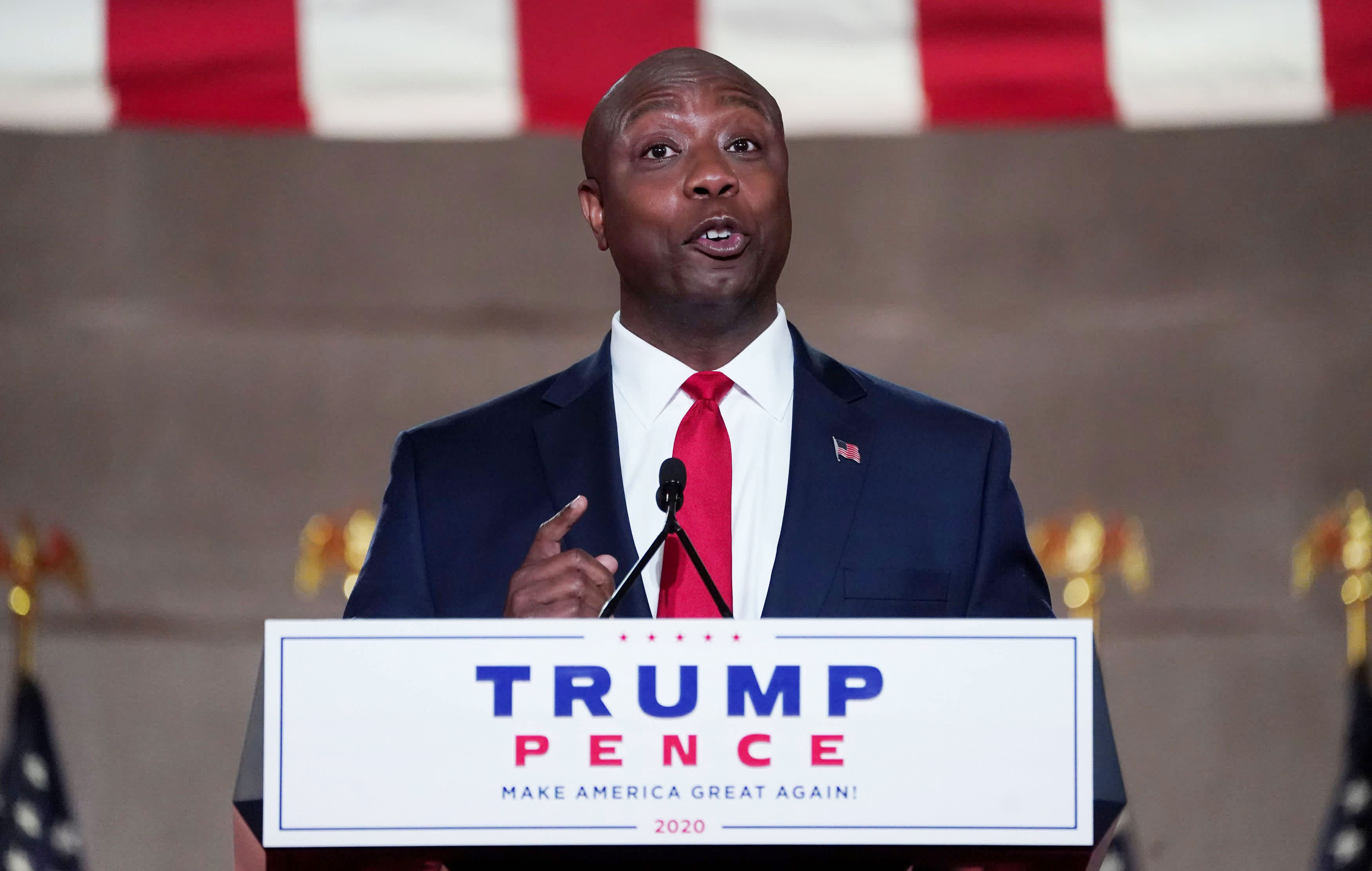 Trump should correct his statements on White supremacists GOP Sen. Tim Scott says – CNBC