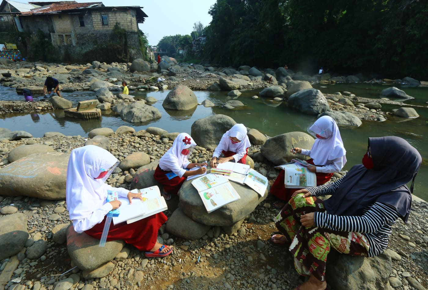 The pandemic could leave Indonesia's 69 million students further behind their global peers