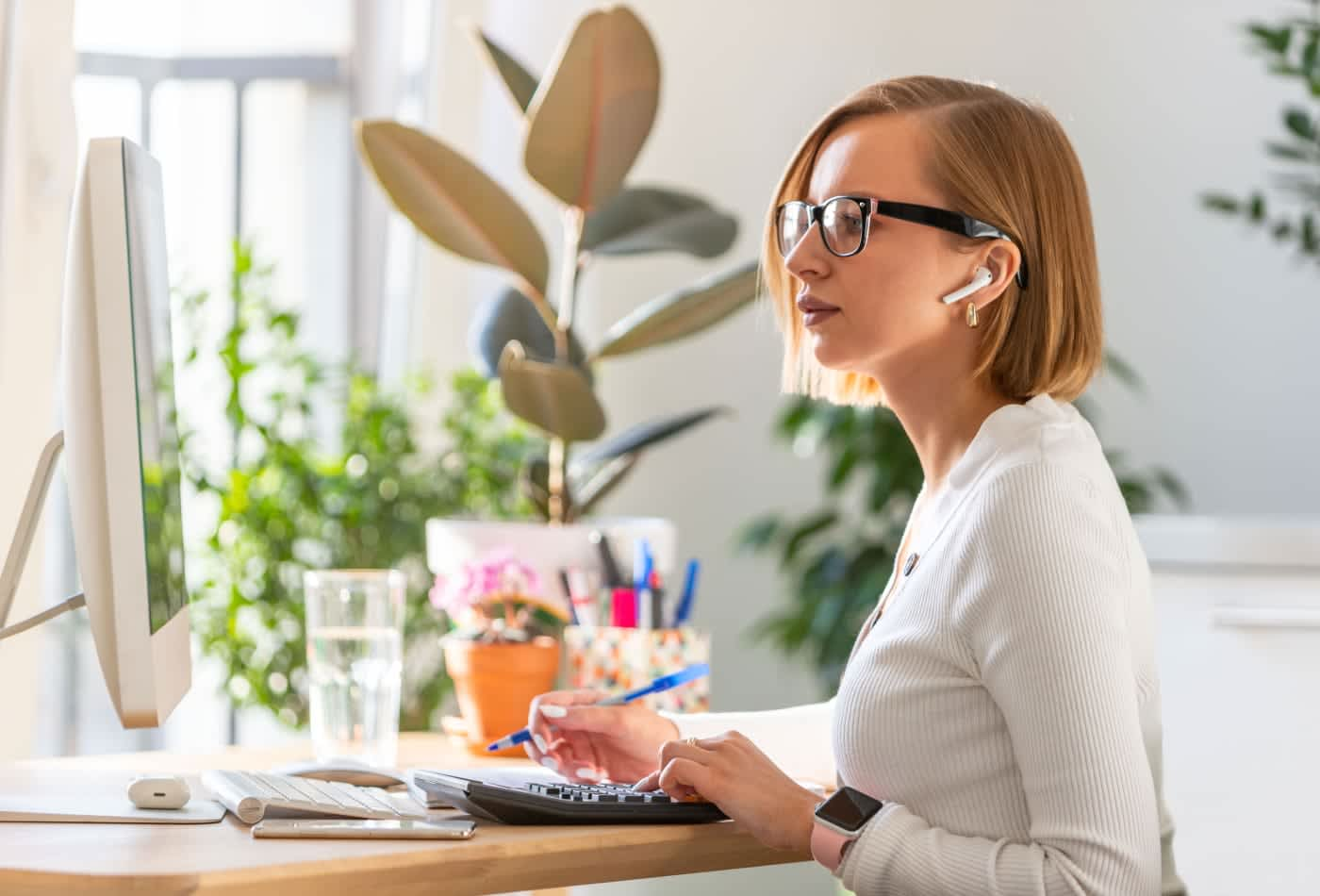 45% of women business leaders say it's difficult for women to speak up in virtual meetings