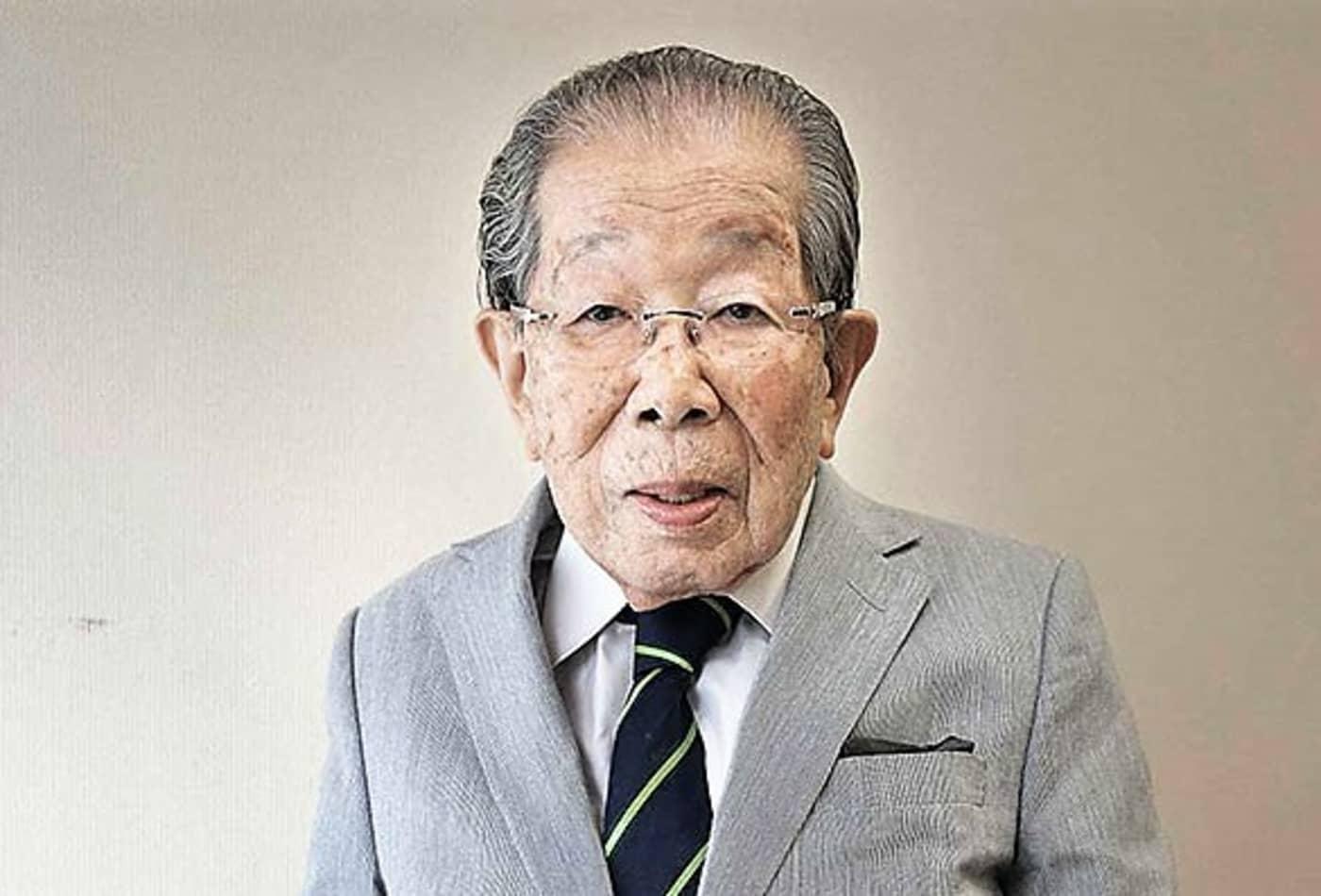 Bác sĩ và chuyên gia trường thọ người Nhật Bản Shigeaki Hinohara