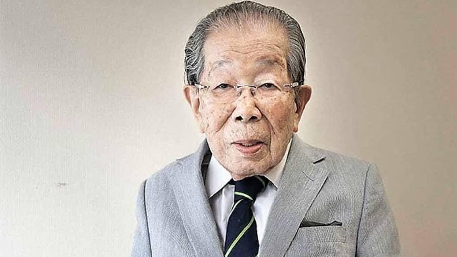 Japanese doctor and longevity expert Shigeaki Hinohara