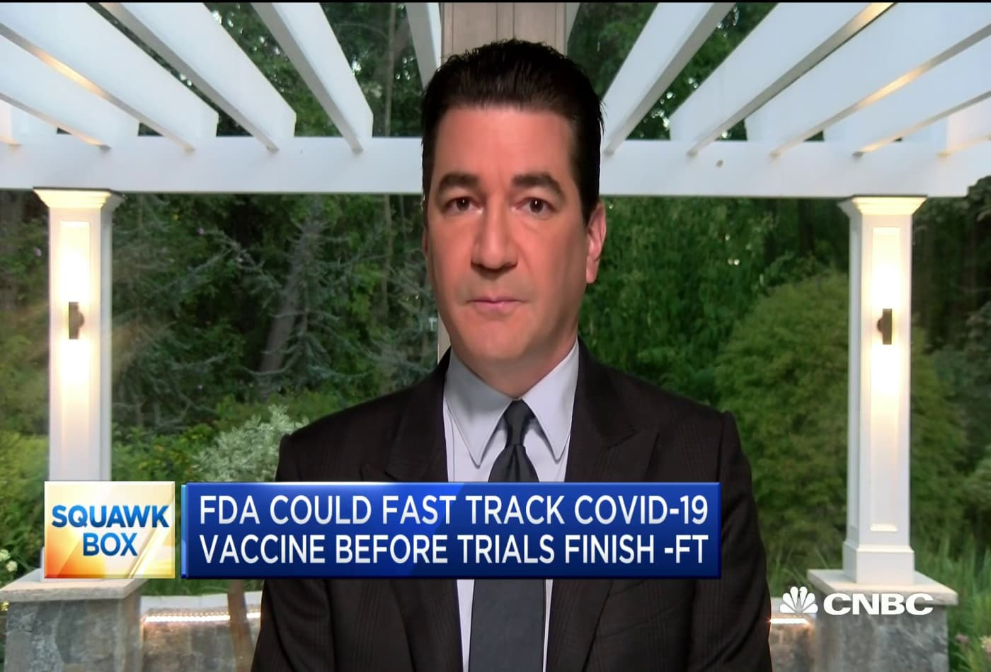 Former FDA chief Scott Gottlieb reacts to report that the FDA is willing to fast track vaccine trial