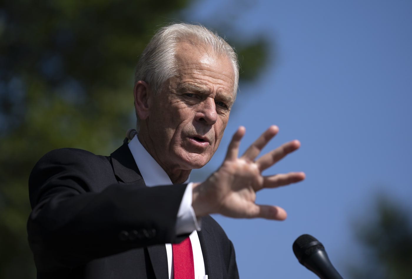 House panel opens probe of White House trade advisor Navarro after abrupt cancellation of ventilator contract