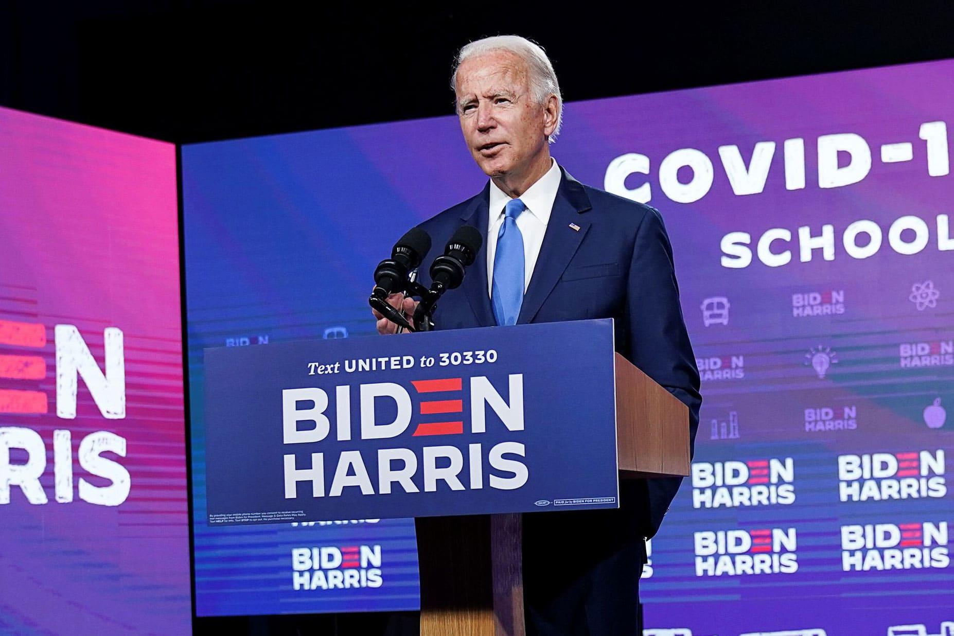 Biden still ahead in the polls, but Trump narrows gap after RNC