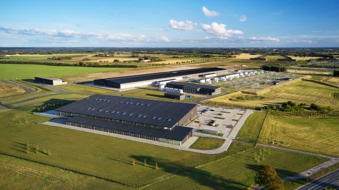 Apple's Viborg data center
