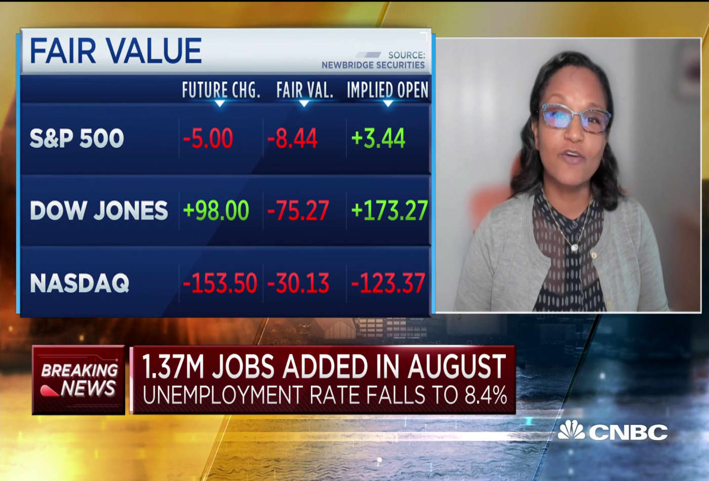 Georgetown professor on what the August jobs report says about the jobs market for the rest of 2020