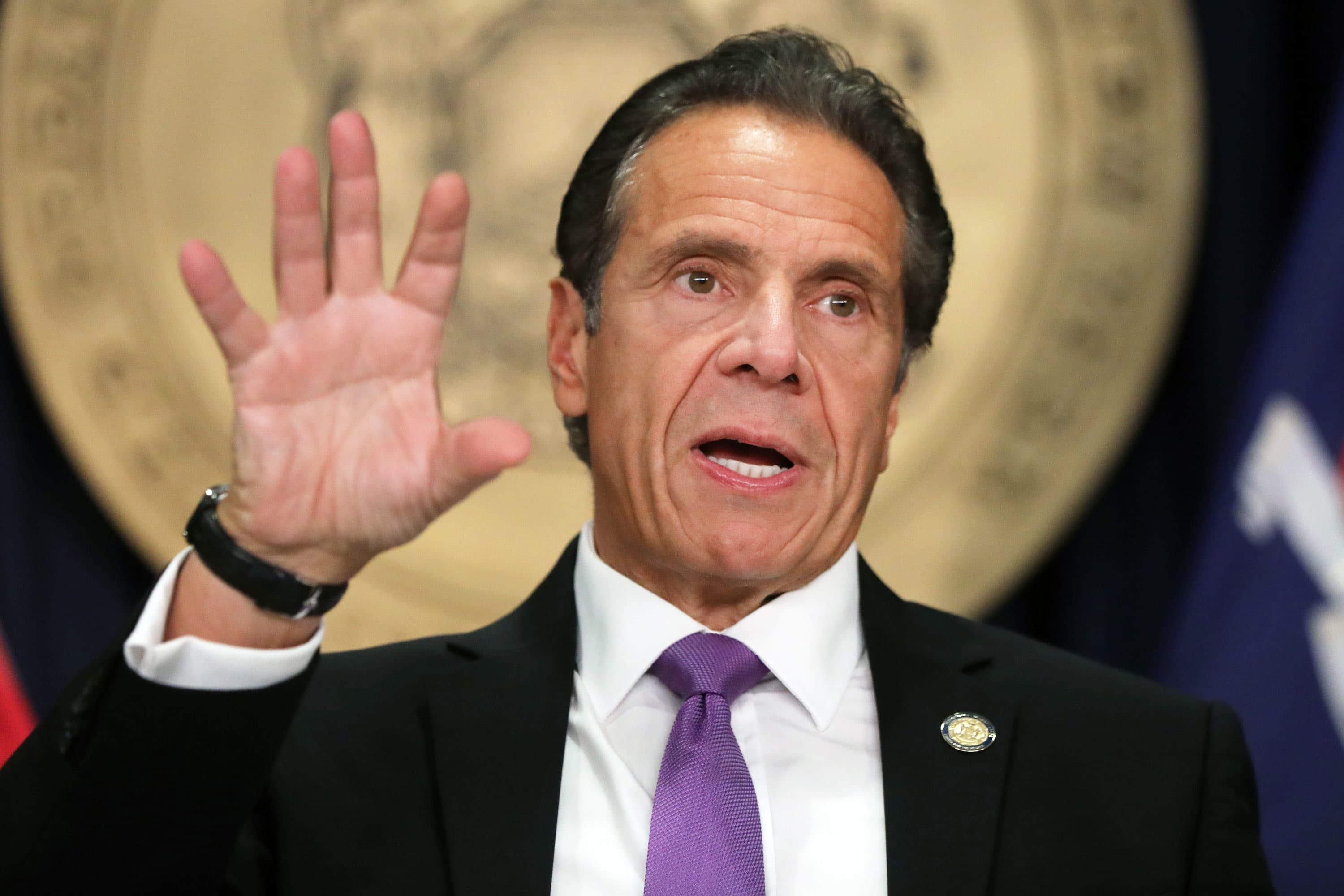 Watch live: New York Gov. Andrew Cuomo holds a press briefing on Covid