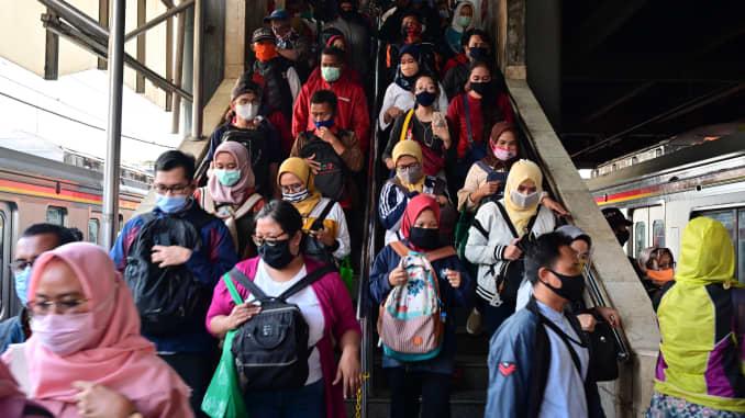 Indonesian Stocks Dive As Jakarta Plans Partial Coronavirus Lockdown Again