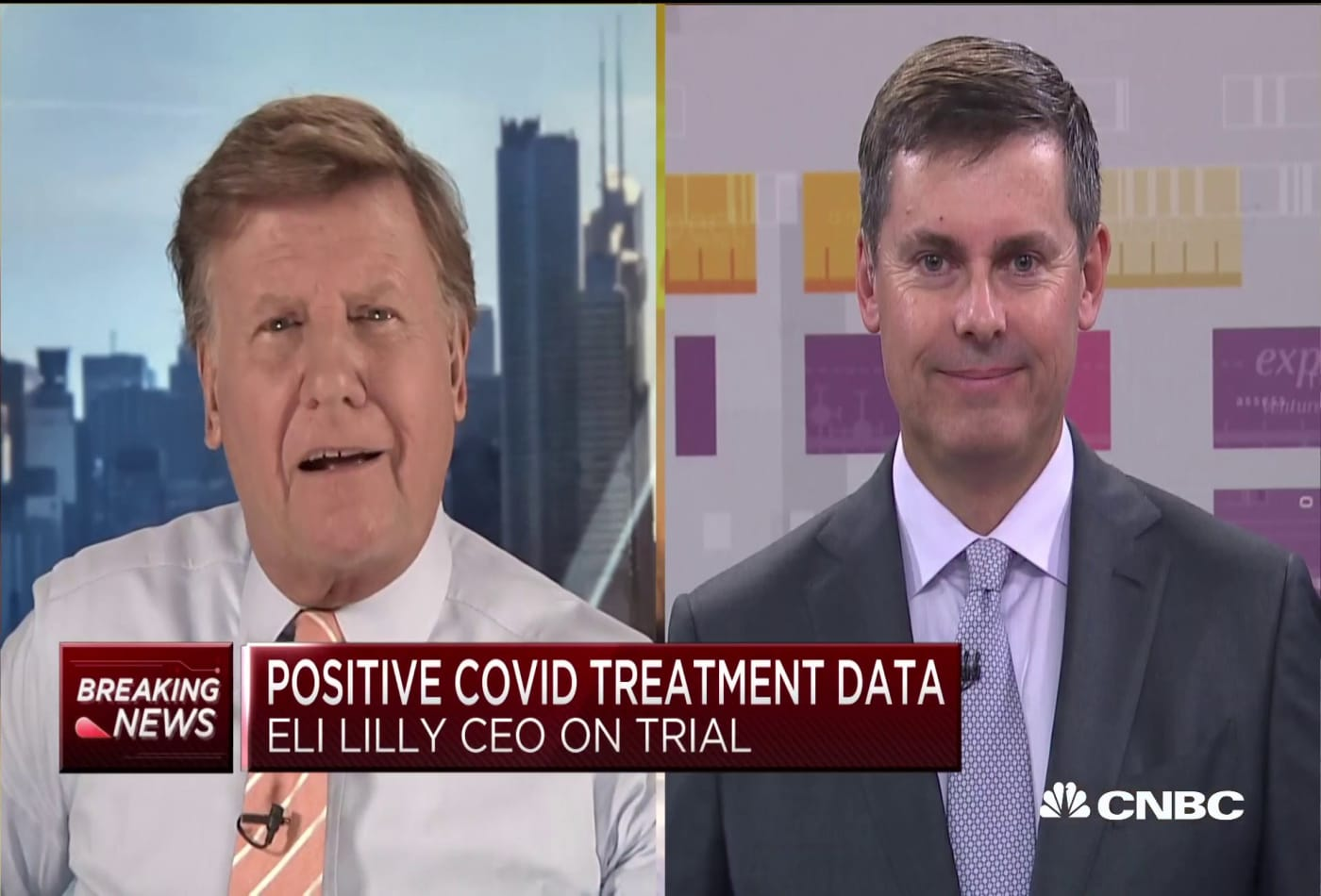Eli Lilly CEO on drug that could aid Covid-19 recovery when paired with remdesivir