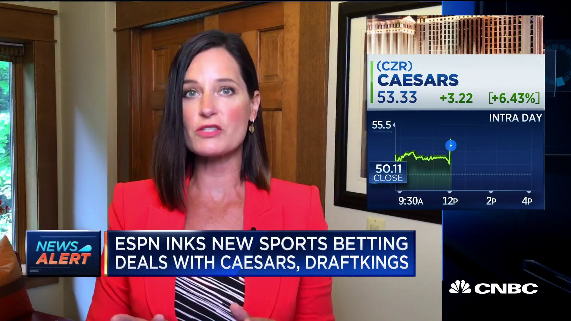Draftkings Surges After Announcing Espn Deal
