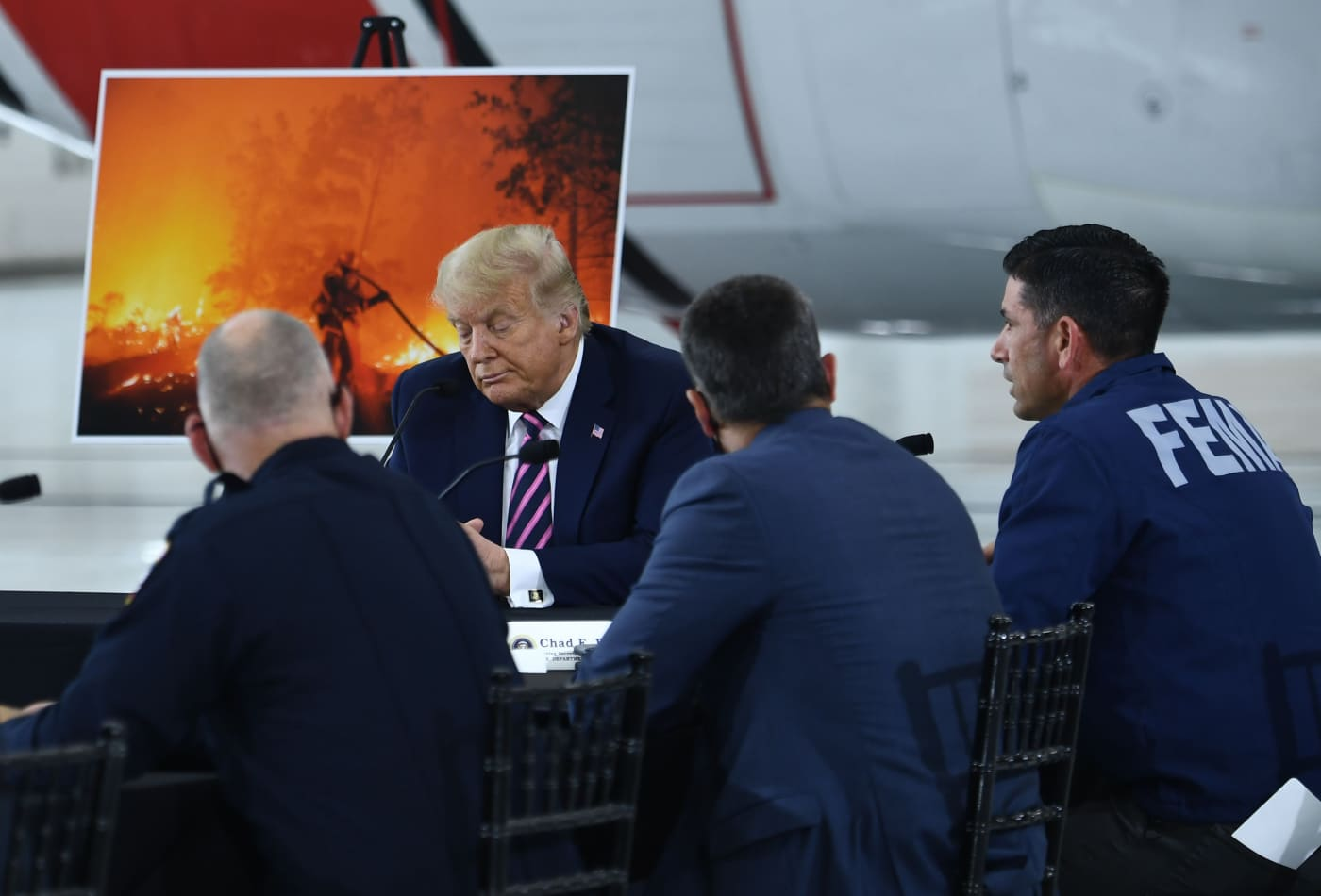 'I don't think science knows,' Trump responds when challenged on climate change at wildfire briefing