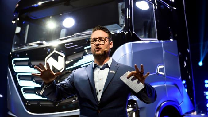 Trevor Milton CEO of Nikola