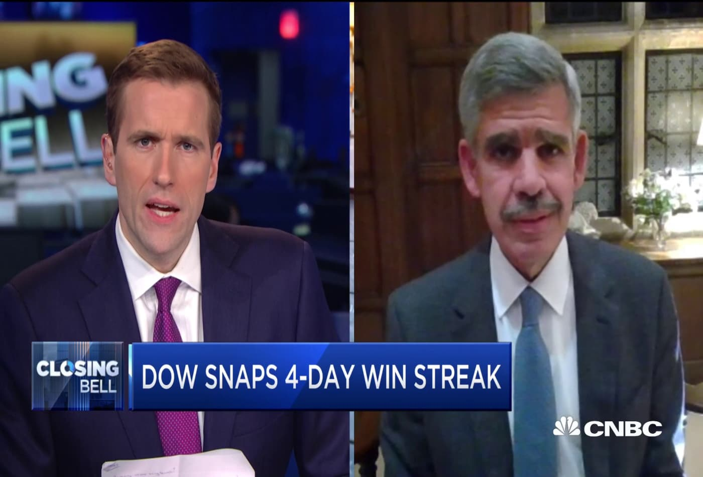 Why Mohamed El-Erian says Fed Chair Powell's stumbles yesterday affected markets