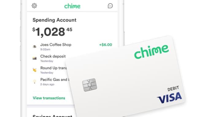 Chime Visa Credit Card
