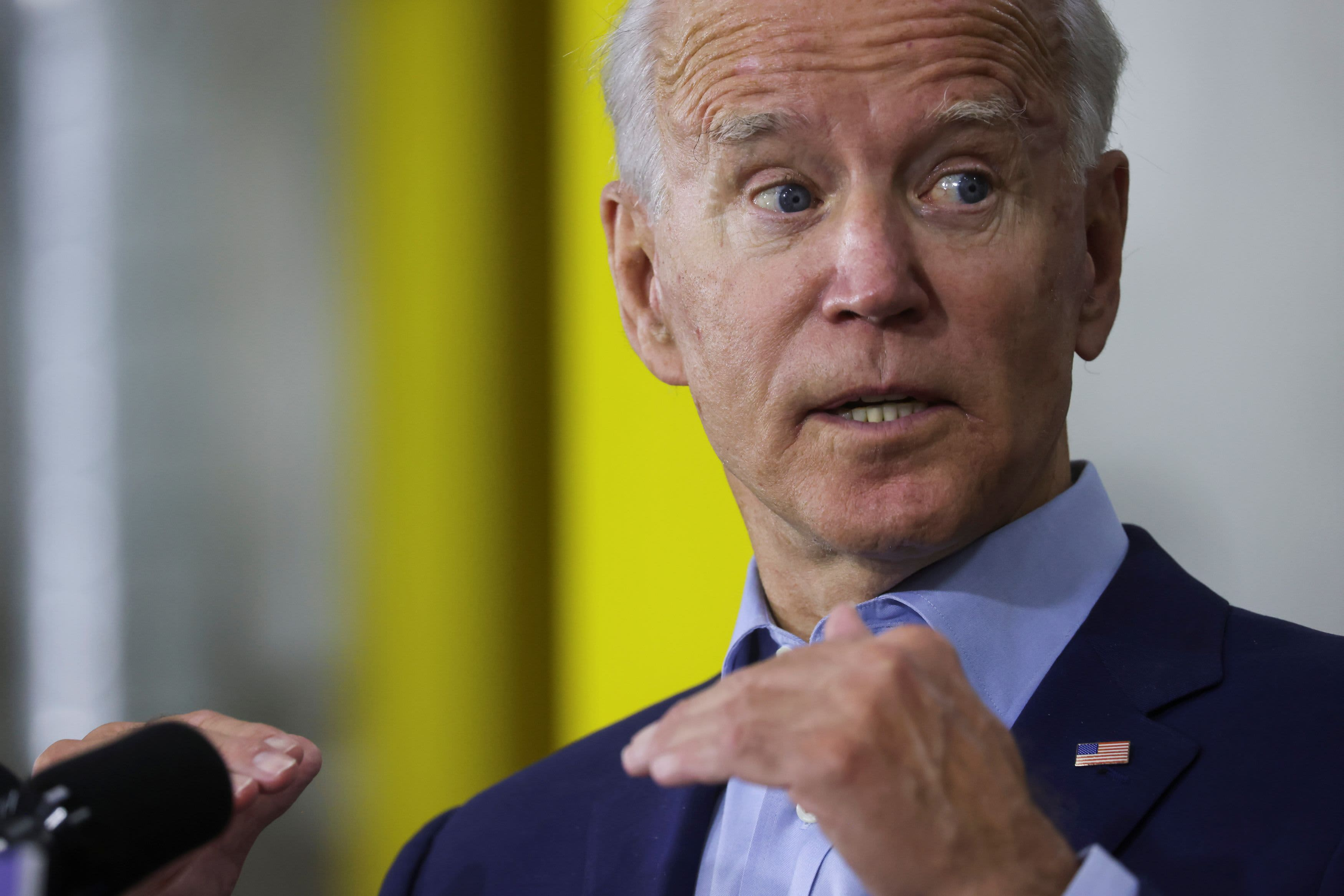 Biden maintains 8 point national lead over Trump after a tumultuous month of news